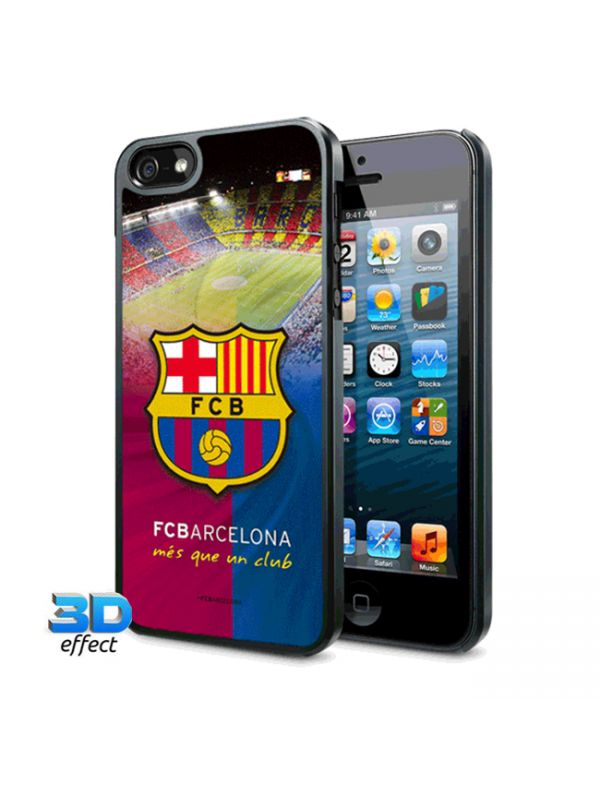 F.C. Barcelona iPhone 5 / 5S Hard Case 3D