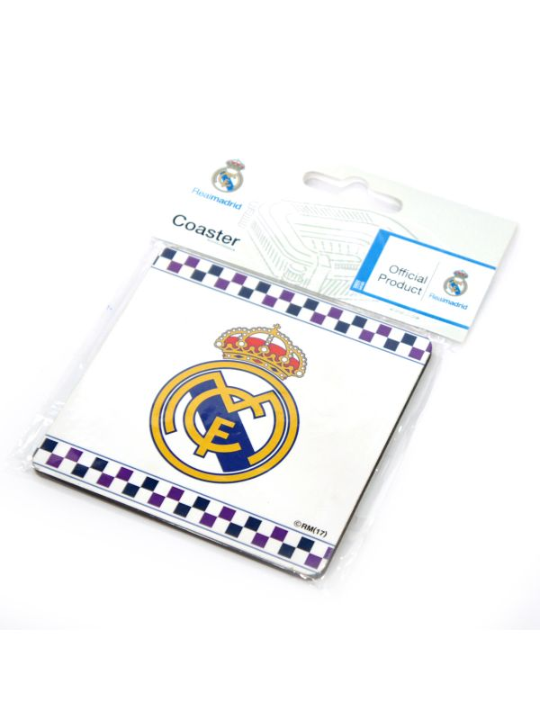 Real Madrid C.F. Coaster Crest