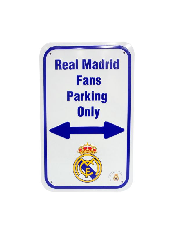 Real Madrid C.F. No Parking Sign