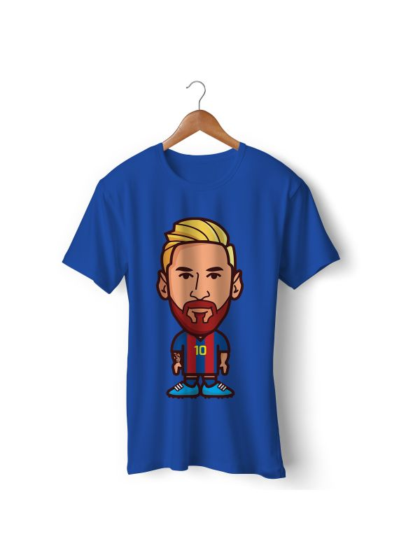 Football Player Icon T-Shirt - Lionel Messi (Barcelona)