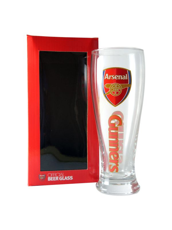 Arsenal F.C. Beer Glass CR