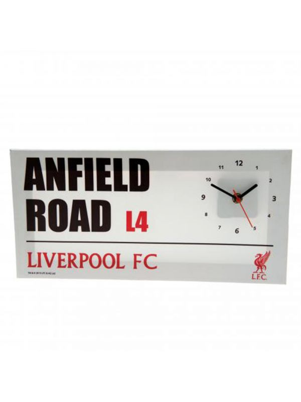 Liverpool F.C. Canvas Wall Clock