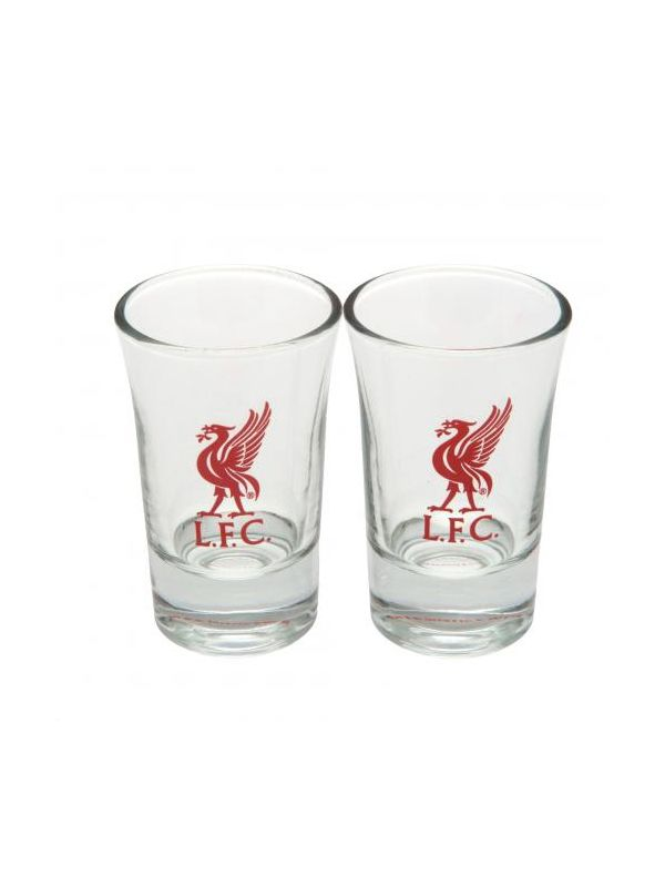 Liverpool F.C. 2pk Shot Glass Set