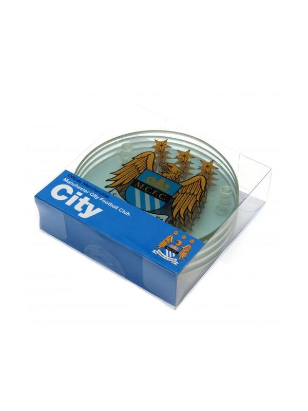 Manchester City F.C. Glass Coasters