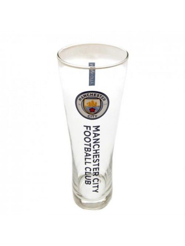 Manchester City F.C. Tall Beer Glass
