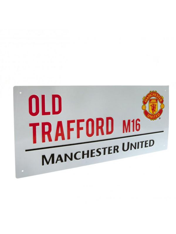 Manchester United F.C. Street Sign TL